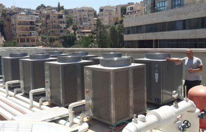 משאבות חום לחימום מים בארגונים